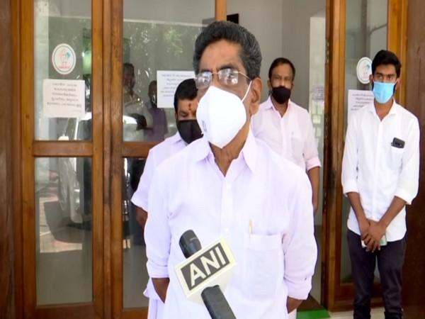 Congress leader Mullappally Ramachandran speaking to ANI in Thiruvananthapuram on Saturday. [Photo/ANI]