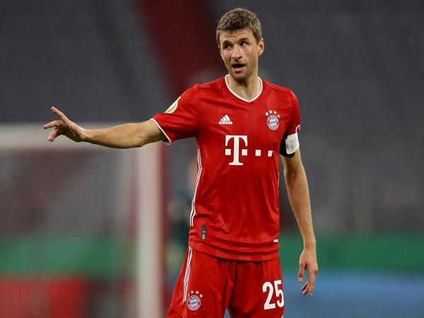 Bayern Munich striker Thomas Muller (Photo/ Bayern Munich Twitter)