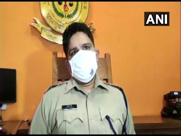 Mumbai Police PRO, DCP S Chaitanya (Photo ANI)