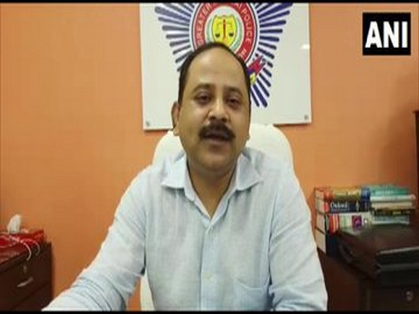 A Pathan, Deputy Commissioner of Police, Crime Branch. Photo/ANI