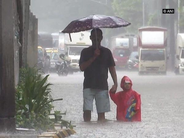 Mumbai rains visual (File photo)