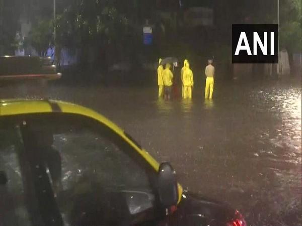 Visual from Mumbai on Wednesday. Photo/ANI