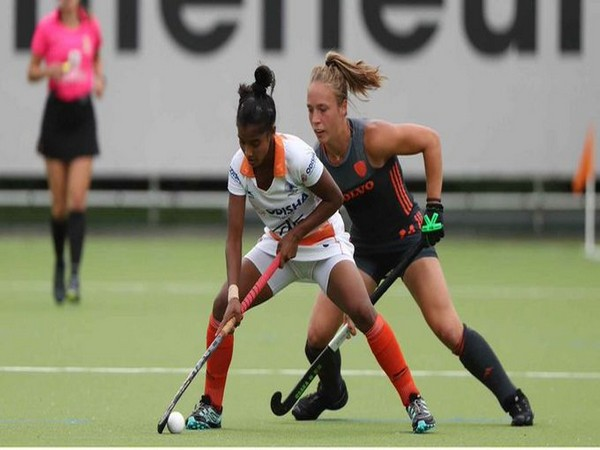 Indian junior women's hockey forward Mumtaz Khan (Photo/Hockey India Twitter)