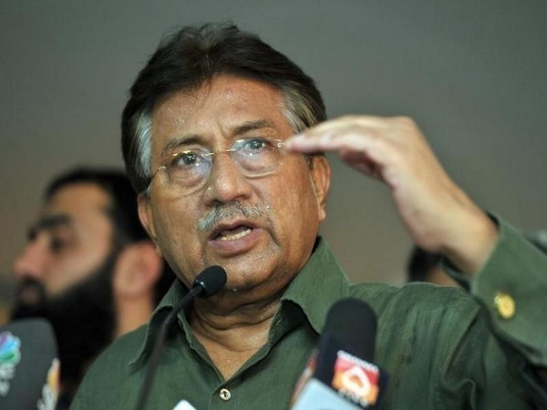 Pakistan's former military dictator Pervez Musharraf