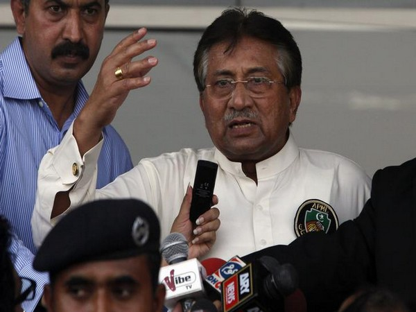 Former Pakistan president General (retd) Pervez Musharraf (File photo)