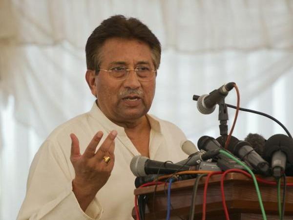 Former Pakistan President Pervez Musharraf (File pic)