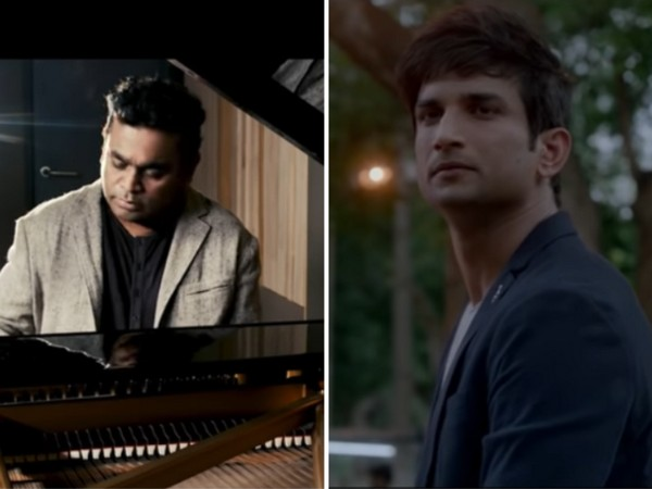 AR Rahman along with 'Dil Bechara' music team pay tribute to late actor Sushant Singh Rajput (Image source: YouTube)