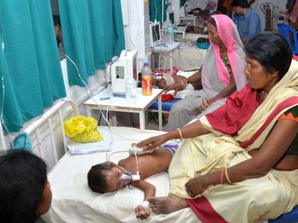 Visuals from hospital in Muzaffarpur, Bihar