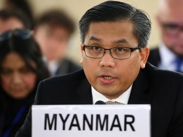 Myanmar's UN Ambassador Kyaw Moe Tun (Photo credit: Reuters)