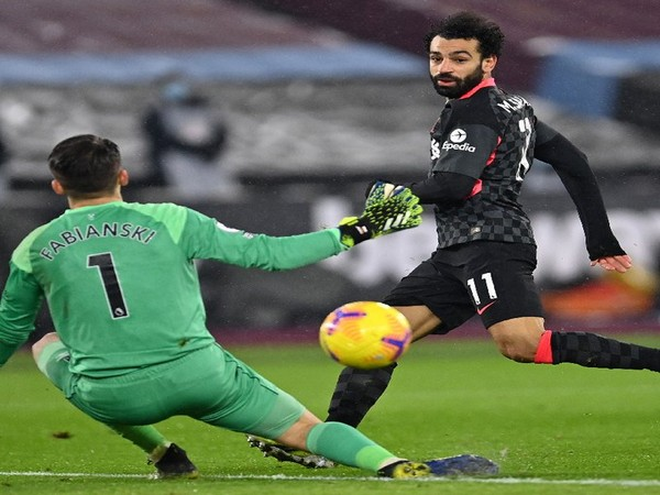 Salah stars as Liverpool defeat West Ham (Photo/ Liverpool Twitter)