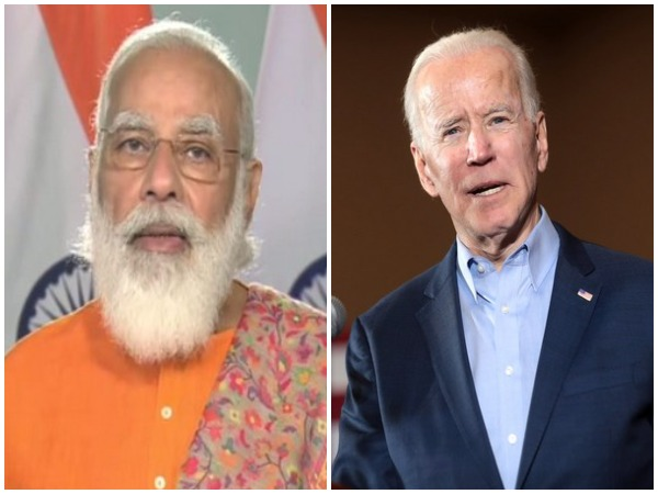 Prime Minister Narendra Modi (left) and US President-elect Joe Biden (right)