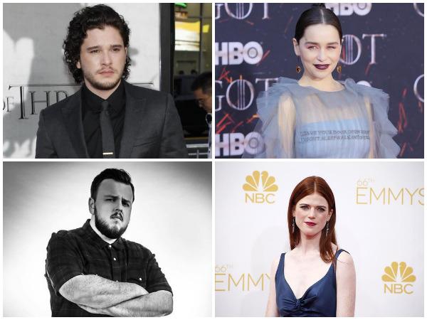 Kit Harington, Emilia Clarke, John and Rose Leslie (Image courtest: Instagram)