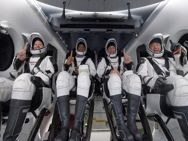 NASA's Space X Crew-1 astronauts clan