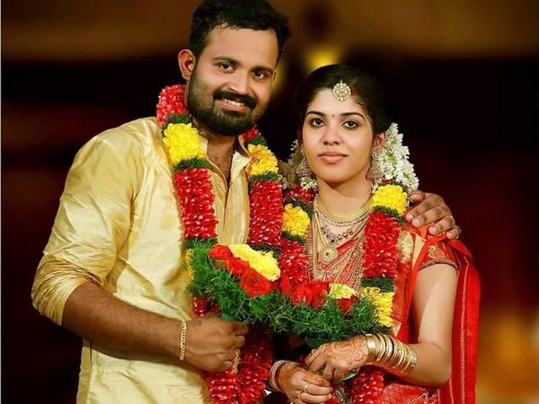 Athira Geetha Sreedharan and her husband Nithin Chandran [Photo: Gulf News]