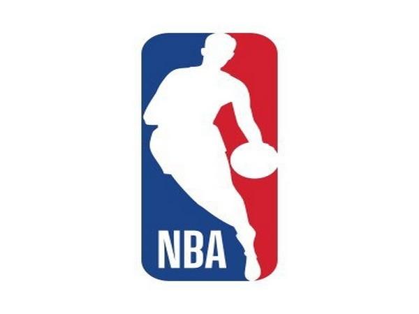 National Basketball Association logo.