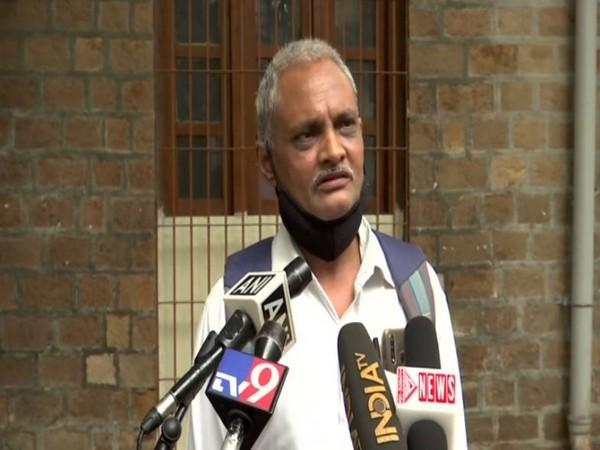 NCB SSP Atul Sarpande speaking to reporters in Mumbai on Thursday. [Photo/ANI]