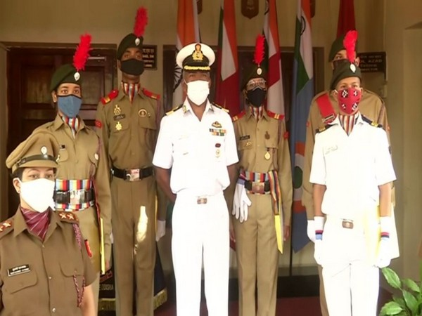 Odisha celebrated National Cadet Corps day  in Bhubaneswar. (Photo/ANI)