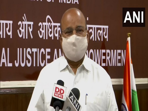 Union Minister of Social Justice and Empowerment, Thawar Chand Gehlot. (Photo/ANI)