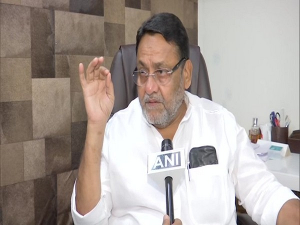 NCP leader Nawab Malik speaking to ANI in Mumbai on Saturday. Photo/ANI