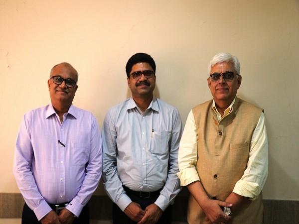 Manoj Patodia, Vice Chairman -TEXPROCIL, T Rajkumar, Chairman - CITI and Dr Siddhartha Rajagopal, Executive Director -TEXPROCIL