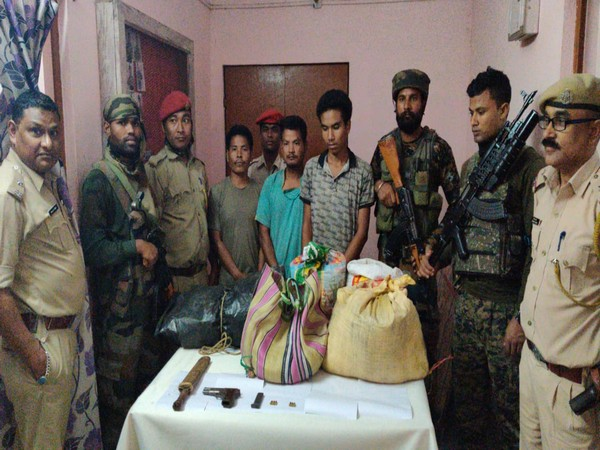 Three NDFB(S) cadres arrested in Assam