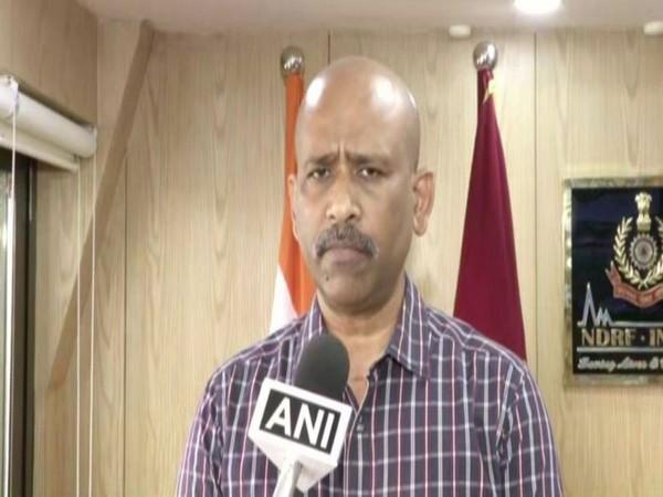 The Director-General (DG) of NDRF, SN Pradhan. Photo/ANI