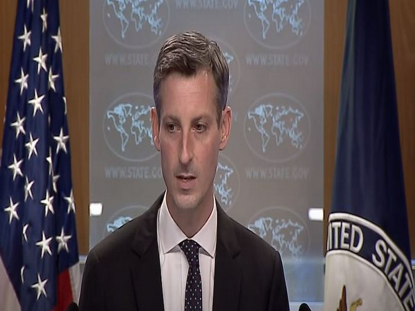 US Department of State spokesperson Ned Price