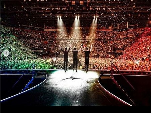 Boy band - Jonas Brothers' Happiness Begins' tour (Image courtesy: Instagram)