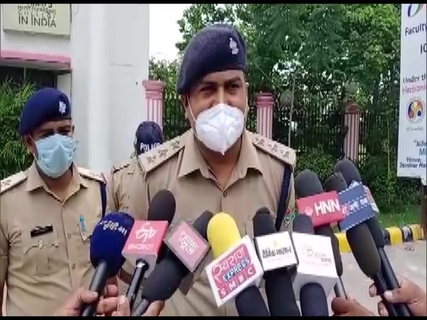 Abhay Singh, CO Manglaur, Haridwar speaking to media on Thursday. (Photo/ANI)