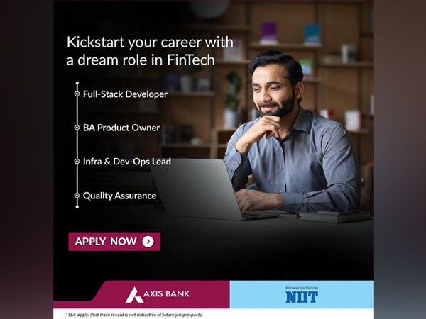 NIIT and Axis Bank partner to launch a Digital Banking Academy