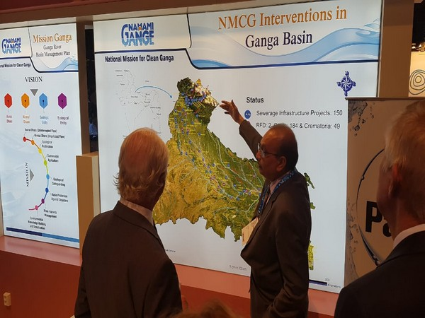 NMCG set up a pavilion in the World Water Week 2019 between August 25 and August 30