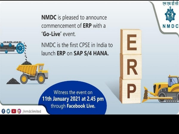 """Facebook Live event called """"Go-Live"""" being broadcasted from NMDC, Head Office Hyderabad"""