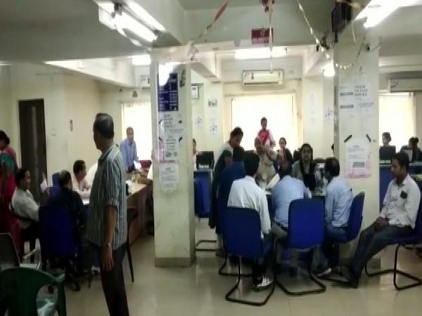 A visual of NRC Sewa Kendra in Guwahati, Assam.