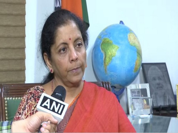 Defence Minister Nirmala Sitharaman speaking exclusively to ANI