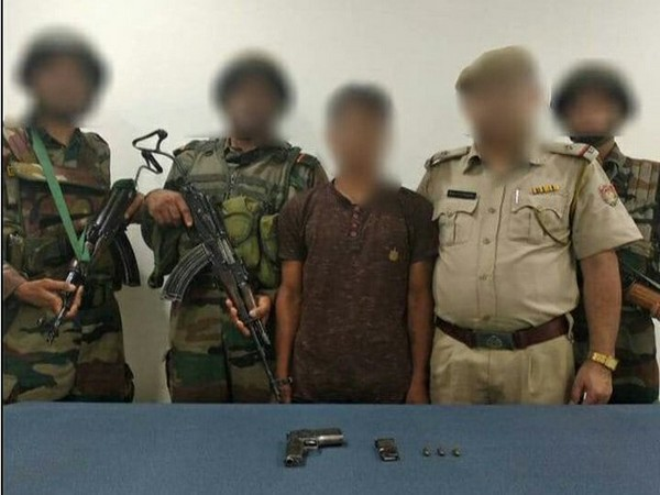 Indian Army apprehended one National Socialist Council of Nagaland (R) cadre