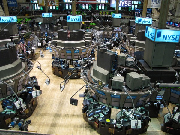 The Dow, the broadest index on the New York Stock Exchange, closed down 224 points, or 0.8 per cent, at 28,430.