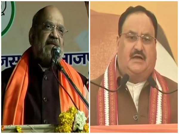 Home Minister Amit Shah and BJP national president JP Nadda (File photos)