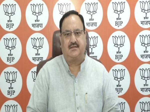 BJP national chief Jagat Prakash Nadda on Friday. Photo/ANI