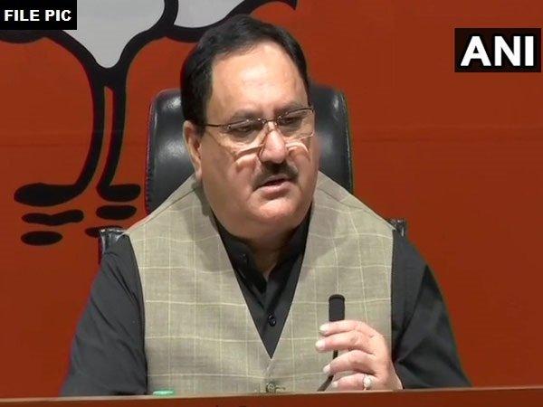 BJP National working President J P Nadda. File photo/ANI