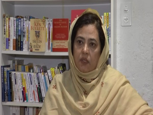 Professor Naela Quadri Baloch, the President of World Baloch Women's Forum