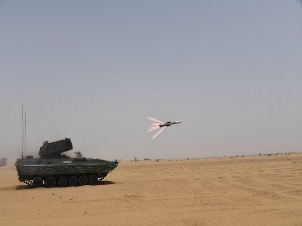 DRDO has successfully test-fired Nag missile multiple times at Pokhran field firing range. (Photo by Defence Ministry)