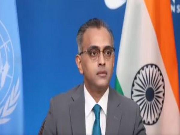 Nagaraj Naidu, Ambassador and Deputy Permanent Representative of India's Mission to UN.