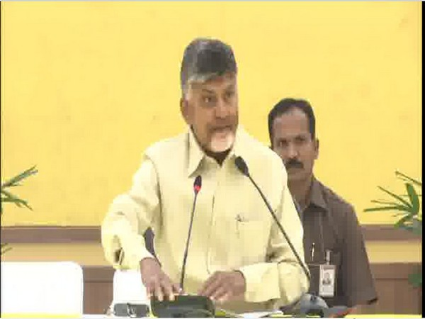 N Chandrababu Naidu not to attend Jagan Mohan Reddy's swearing-in ceremony. Photo/ANI