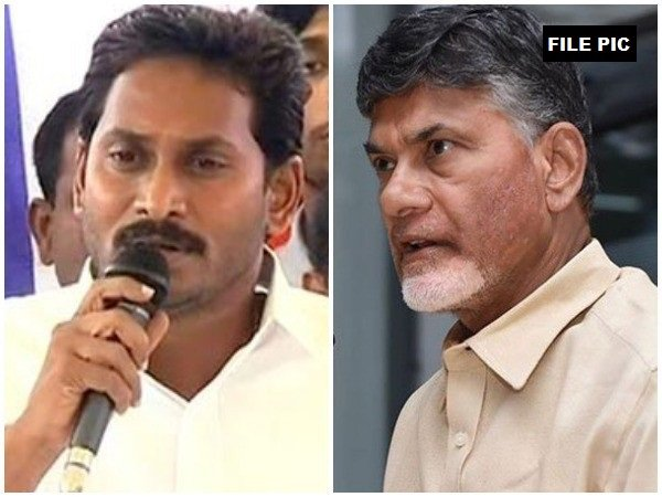 CM Jaganmohan Reddy (L) and Chandrababu Naidu (R) (File photo)