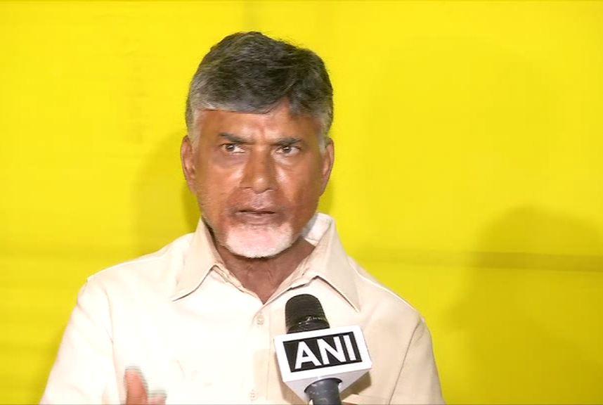 Andhra Pradesh Chief Minister N Chandrababu Naidu speaking to ANI on Sunday