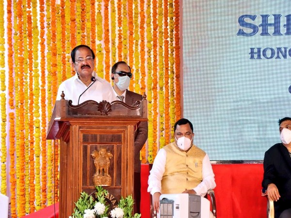 Vice President, M.Venkaiah Naidu speaks at Goa Legislative Assembly function (Photo: Twitter)