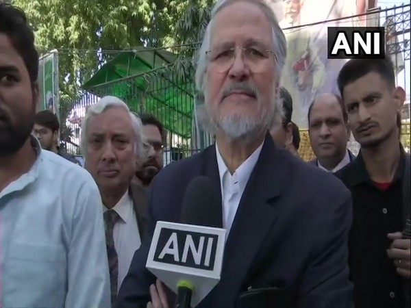 Najeeb Jung speaking to ANI in New Delhi on Monday.
