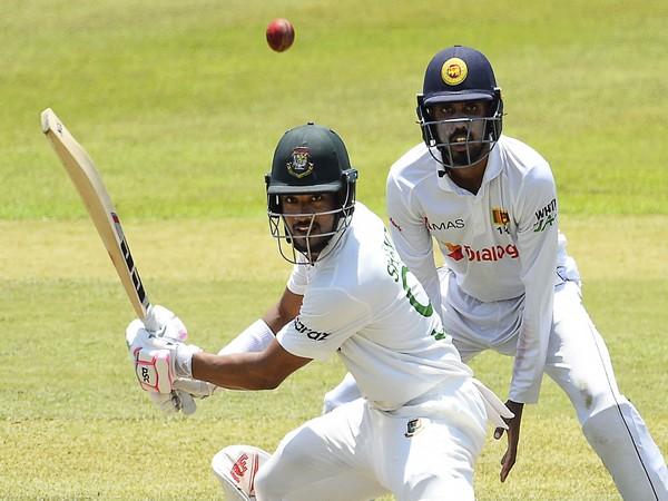 Bangladesh batsman Najmul Hossain (Photo/ ICC Twitter)