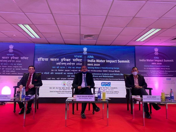 The 5th India Water Impact Summit organised by NMCG and cGanga.