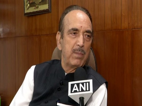 Ghulam Nabi Azad speaking to ANI in New Delhi on Friday.